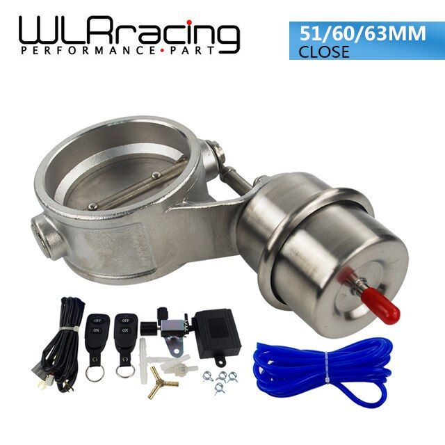 WLR RACING - NEW vacuum Activated Exhaust Cutout 2