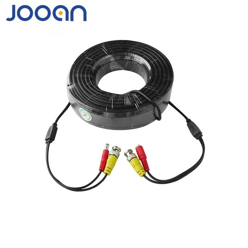 Câble JOOAN BNC 18M connecteur de caméra vidéo d'alimentation et de lecture câble BNC câble de caméra d'alimentation BNC pour CCTV AHD caméra DVR sécurité