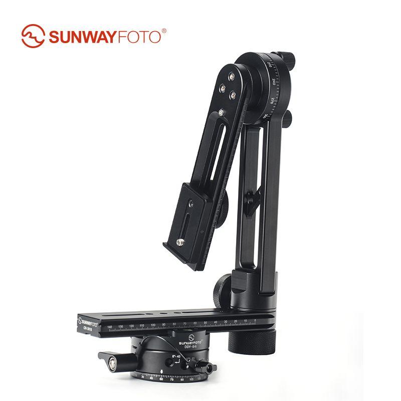 SUNWAYFOTO CR-3015A 360 VR Panorama Stativ Kopf Stativ Panorama Kopf Kamera Stehen Panorama Kopf für Manfrotto Benro