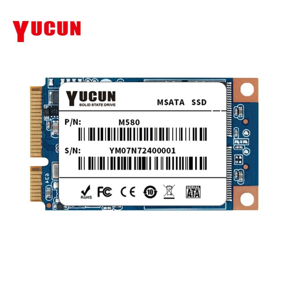 YUCUN MSATA SSD 120GB Internal Solid State Drive PCIE SSD 128GB for Tablet PC Ultrabooks Laptop