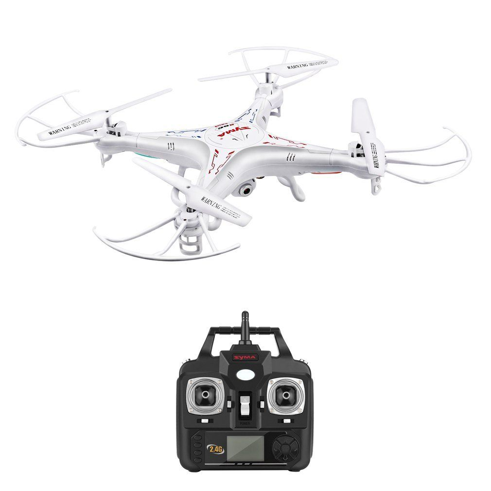 SYMA X5C RC Drone 6-Axis Gyro Remote Control Helicopter Quadcopter With 2MP HD Camera Stronger Wind Resistance Kid RC Toys Hobby