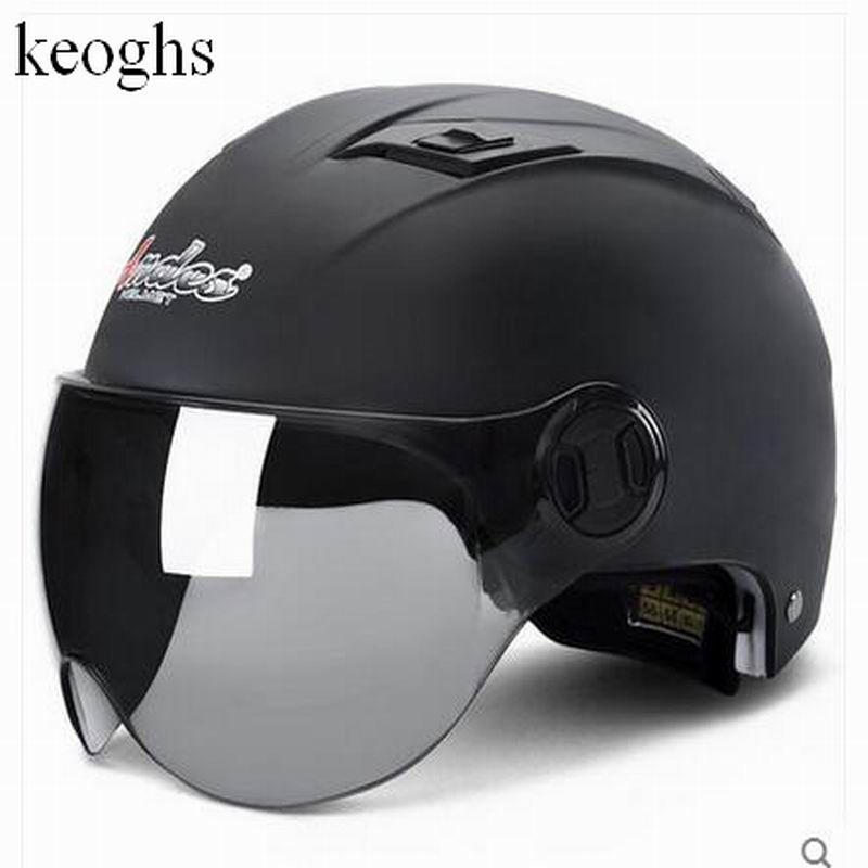 hot sell fashion security half helmet vintage helmet capacetes de motociclista motorcycle helmet motorhelm 6colors