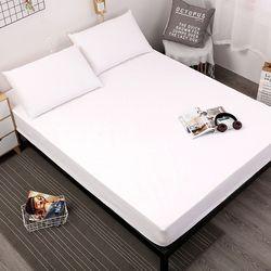 MECEROCK Одноцветный наматрасник Водонепроницаемая подушка для матраса простыня разделенная вода постельное белье с эластичным