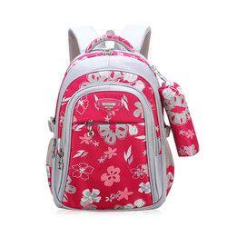 Новые детские школьные сумки для девочек, сумка для начальной школы, сумка для детей, детские школьные сумки, рюкзак с принтом, ортопедическ...