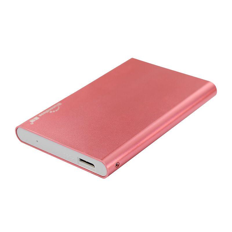 Boîtier de disque dur bluetooth sans fin Sata vers USB 3.0 boîtier de disque dur en aluminium 2.5 ''pour ordinateur portable/bureau/PC/tablette support de boîtier de disque dur win7/8/10