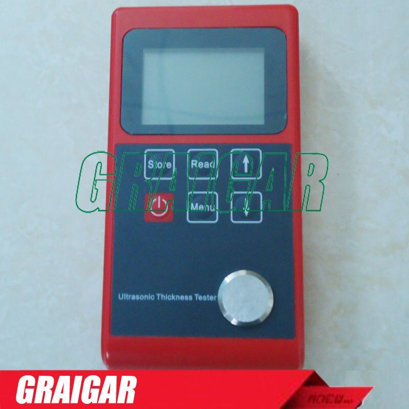 New Ultrasonic thickness tester Velocity range 1000~9999 (m/s) Leeb322 with measuring range of 0.7 ~ 252mm