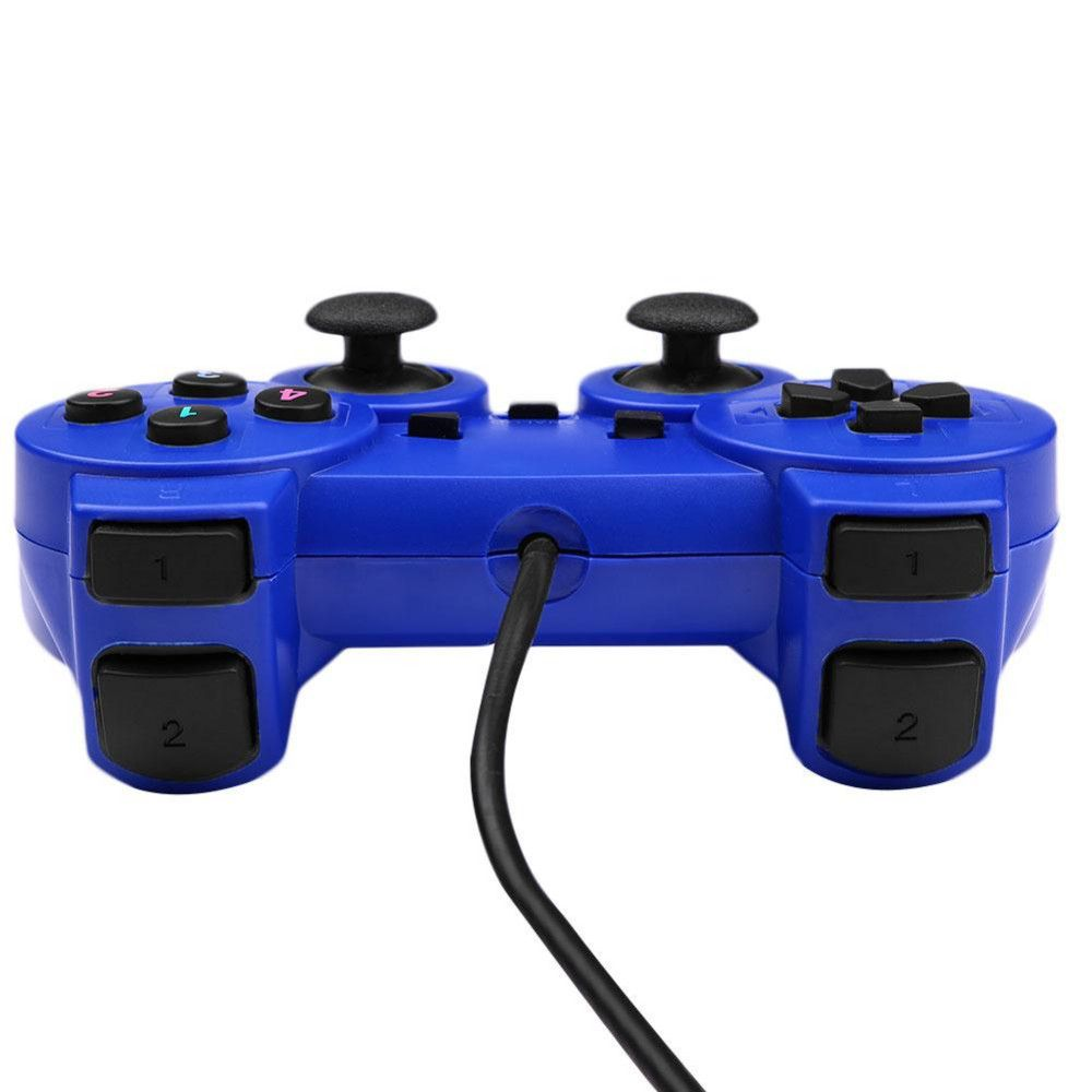 Vibration Motor Shock Vibration USB Wired Game Controller Gamepad Joystick controle For Windows PC Came Gift for Boy Men