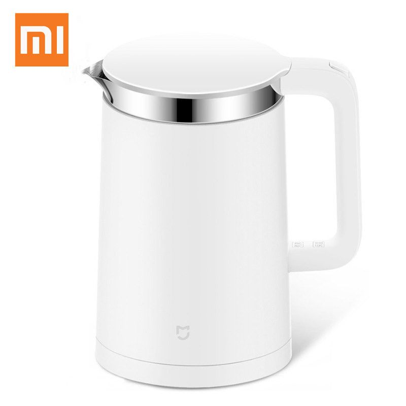 Original Xiaomi Mijia Thermostat Elektrische Wasserkocher 1.5L Control durch Handy App 12 Stunden Thermostat Smart wasserkocher