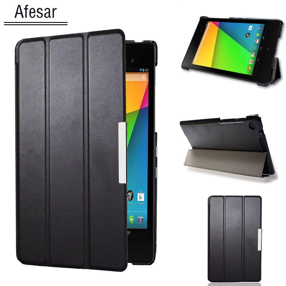 Nexus 7 2ème Smart cas de couverture de cuir pour Asus Google Nexus 7 FHD 2ème (2e Gen.2013) ultra mince flip book cas aimant auto sommeil