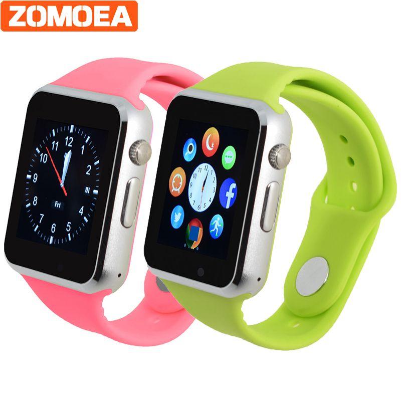 Smart Watch для Android Bluetooth обратите внимание Спорт Шагомер Поддержка WhatsApp умных часов для Samsung Huawei Камера gt08 dz09 Q18