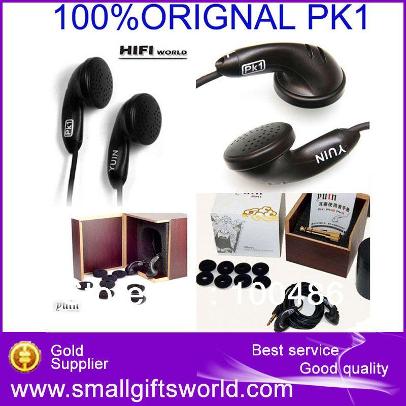 100% Original Yuin PK1 High Fidelity Quality Hifi Fever Professional Earphones Earbuds