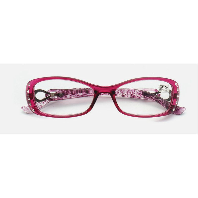2018 NEW ND2516-ND2501 High-quality fashion color unbreakable reading glasses female ultra-light anti-fatigue diamond