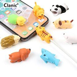 Cable bite Cute Animal cable protector for iphone usb cable organizer chompers charger wire holder for iphone cable dropshipping