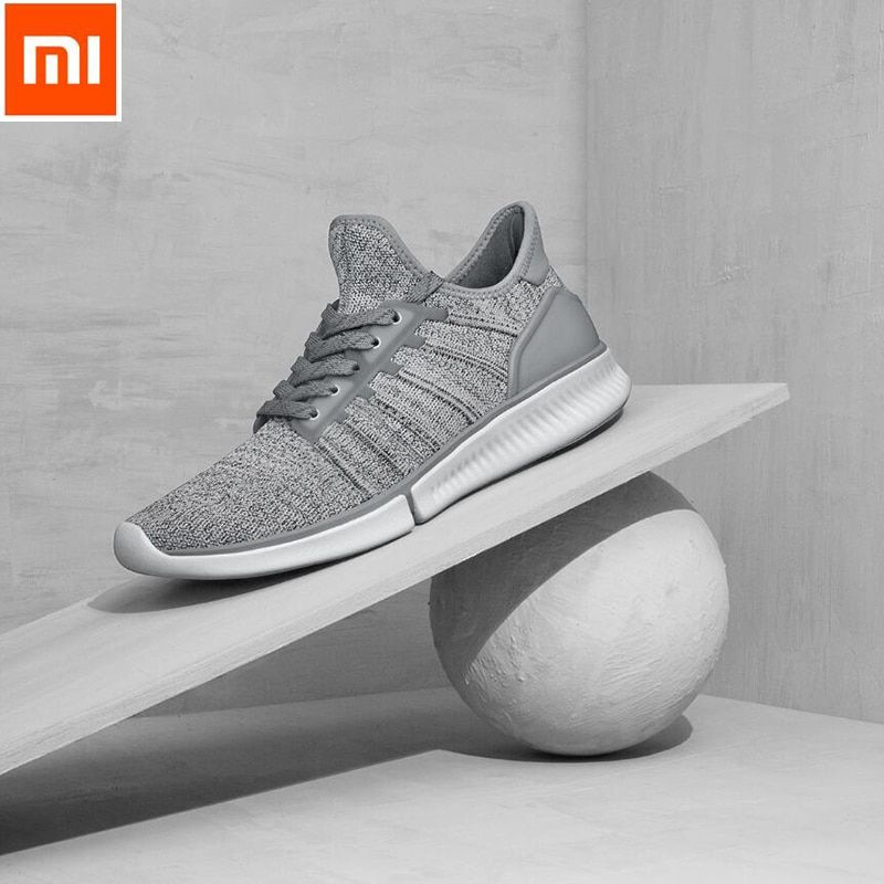 24Hours Ship Xiaomi Mijia Smart Chip Shoes Fashionable Design Replaceable Waterproof IP67 APP Control Sport Shoes with Chip