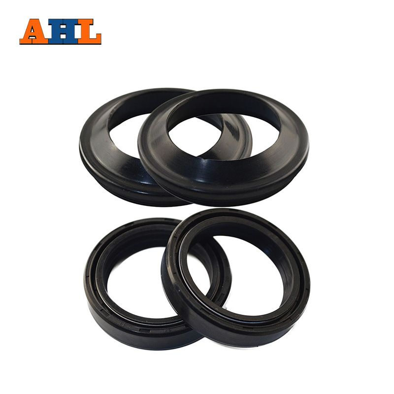 AHL 43x55 / 43 55 Motorcycle Front Fork  Damper Oil Seal and Dust seal (43*55*8/ 9.5)