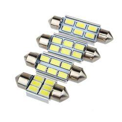 Super Power 5630 5730 SMD CANBUS Festoon Dome C5W 6418 FEHLER FREI Auto Auto LED glühbirne Reine Weiße Lesen 31/36/39/42mm 12 v