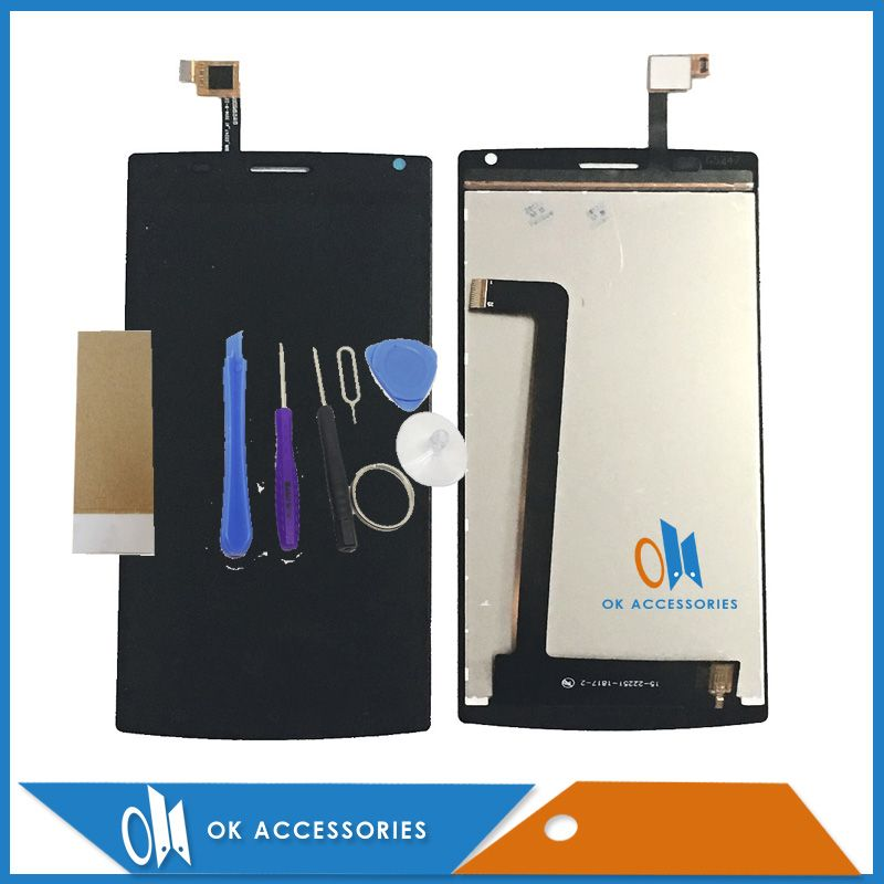 Original For MegaFon Login Plus MFLoginPh TOPSUN_G5247_A1 LCD Display+Touch Screen Digitizer Black Color With Tools Tape 1PC/Lot