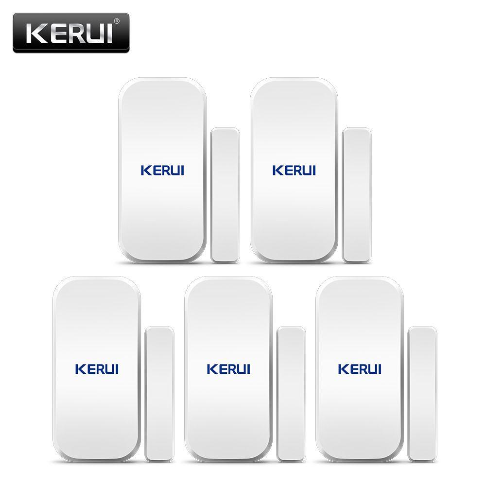 Détecteur de capteur magnétique de porte de fenêtre sans fil d'origine KERUI D025 433MHz pour système d'alarme sans fil à la maison