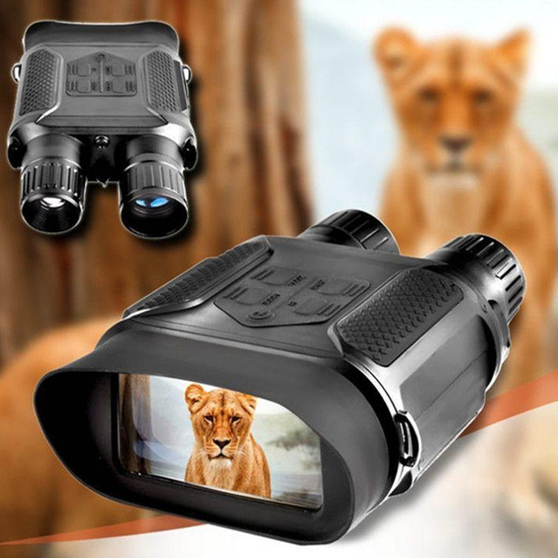 400 M 7X31 Palette IR Nachtsicht Brille Nacht Jagd NV Fernglas mit Video und Bild NV Zielfernrohr für Hunter