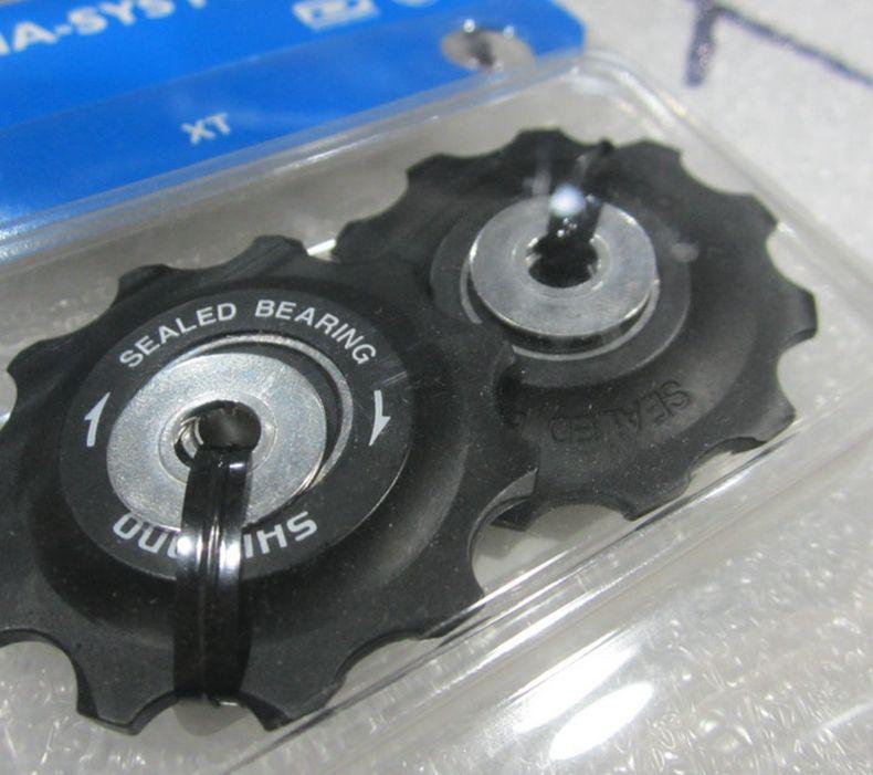 Biciclea roue de guidage vélo Jockey roues vtt route vélo dérailleur arrière poulie en aluminium pour RD-M786/M781/M780/M773 10 vitesses