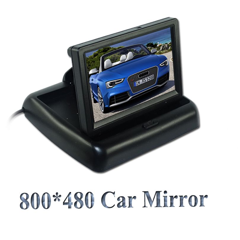 Factory sell Rear View Camera Parking 2ch Video 4.3