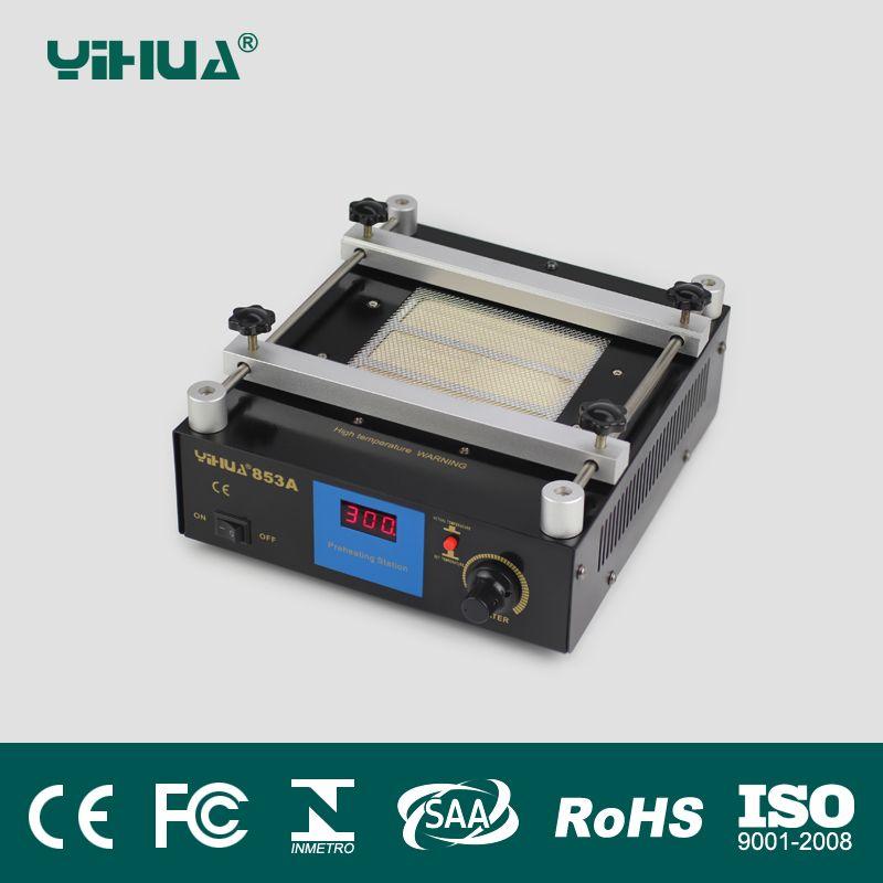 110V/220V YIHUA 853A High power ESD BGA rework station PCB preheat and desoldering IR preheating station