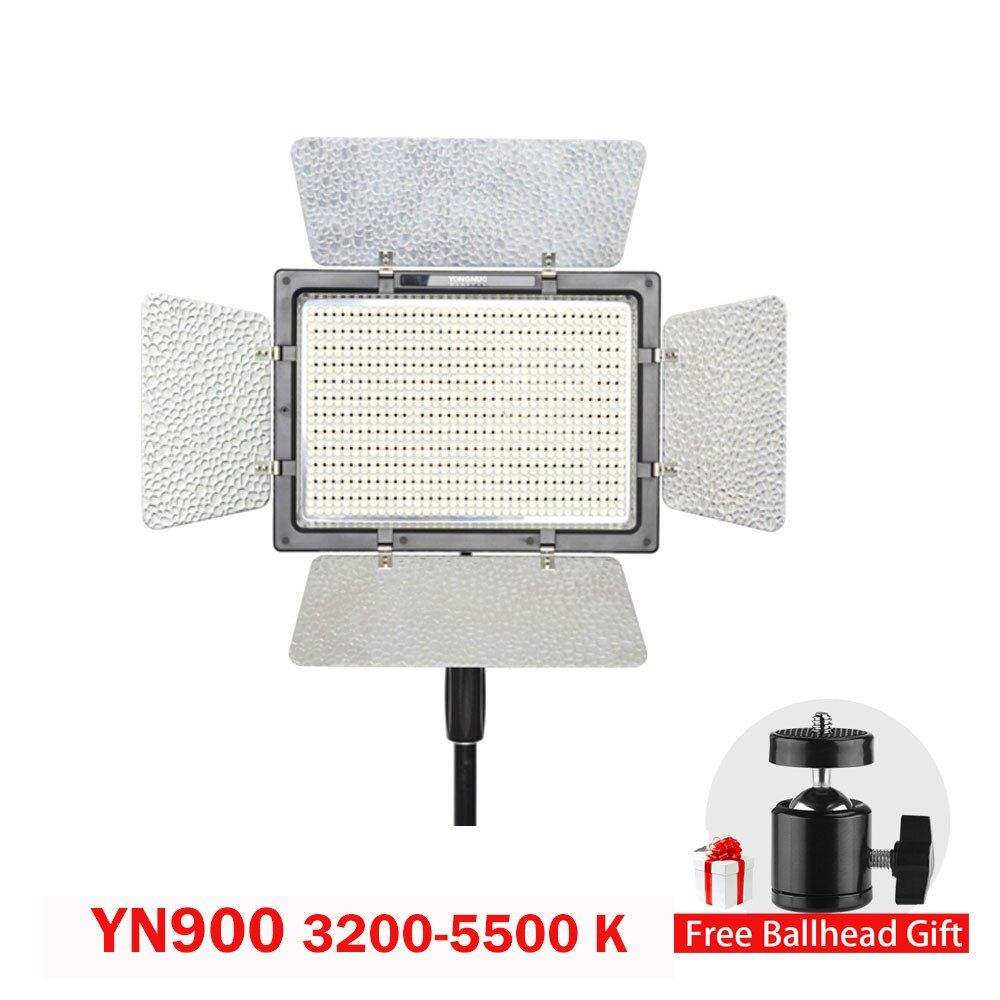 Yongnuo YN900 CRI 95 3200-5500K Wireless Color LED Beam Video Light Control By Phone App for Wedding Photography Studio