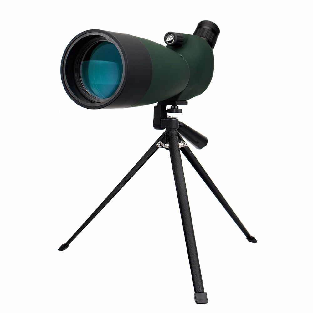 SVBONY SV28 Spotting Scope 25-75x70mm Télescope Zoom Étanche Angle Monoculaire w/Trépied Étui Souple Birdwatch F9308B