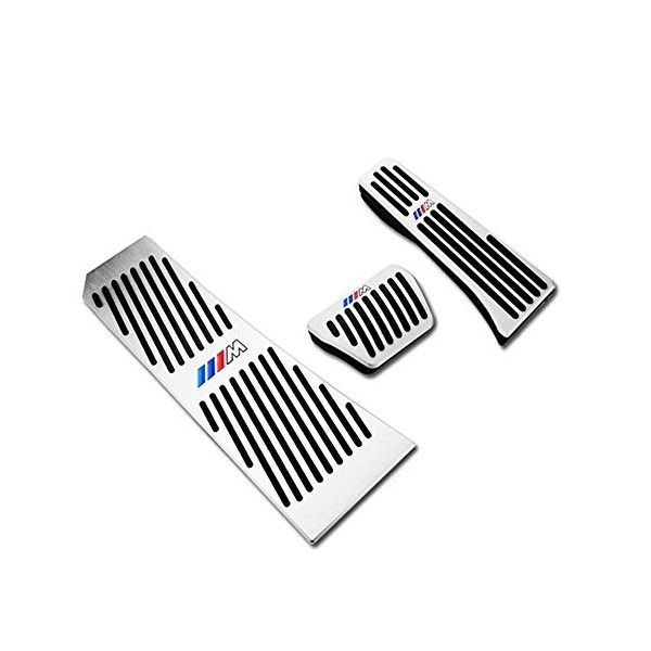Car Styling Car Stickers Car Pedal for BMW M Emblem E46 F10 E90 F30 E60 F20 E39 X3 E36 X5 X1 X5 E53 F30 E34 E30 E92 X5 70
