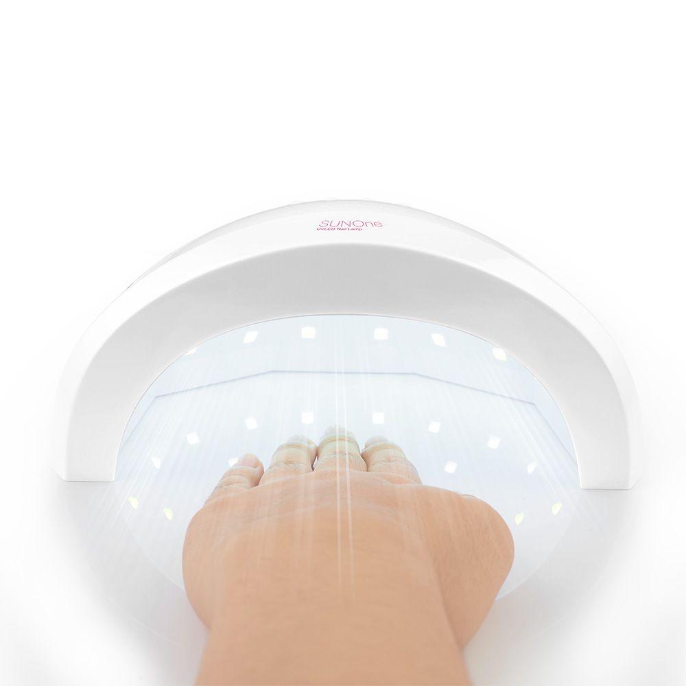 Professional sunone nail lamp dryer uv led curing gel light Nail Tool Machine dual light source 365nm+405nm