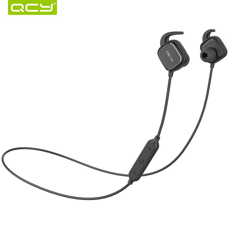 QCY QY12 Bluetooth Earphones Sport Wireless Earphones Magnet Switch Earbuds With Mic Noise <font><b>Cancelling</b></font> Earbud