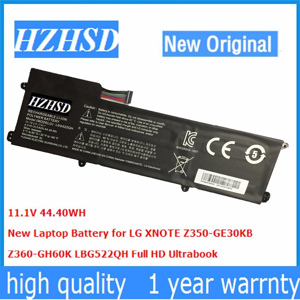 11,1 V 44.40WH Neue Original LBG522QH Laptop Akku für LG XNOTE Z350-GE30KB Z360-GH60K