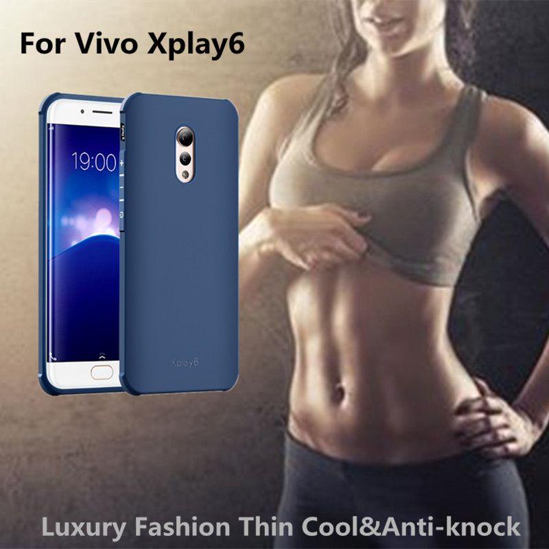 Pour vivo x jouer 6 cas De Luxe En Silicone Souple 3D Dragon & plaine givré 360 protéger cas de couverture arrière pour Vivo Xplay6 téléphone cas
