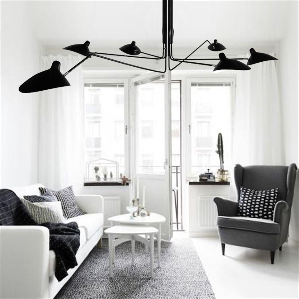 Luminaires suspendus nordiques LED en métal moderne salon pendentif éclairage salle à manger décor suspension lampe Lustre luminaire suspendu