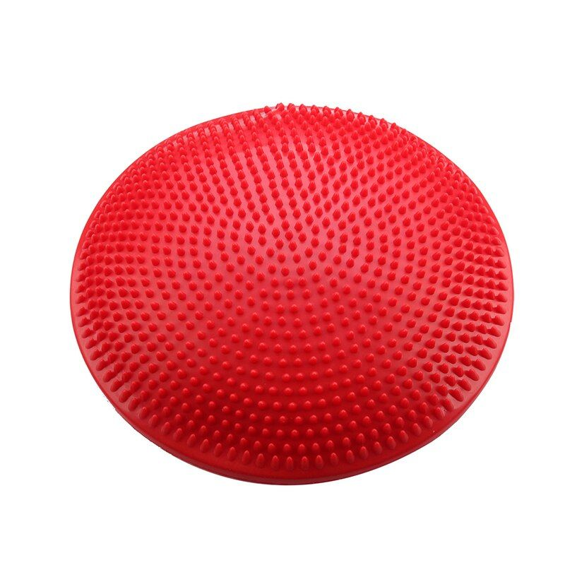 Super sell Yoga Stability Balance Board <font><b>Disc</b></font> Gym exercise Wobble Ankle knee Air Cushion Pad, Red