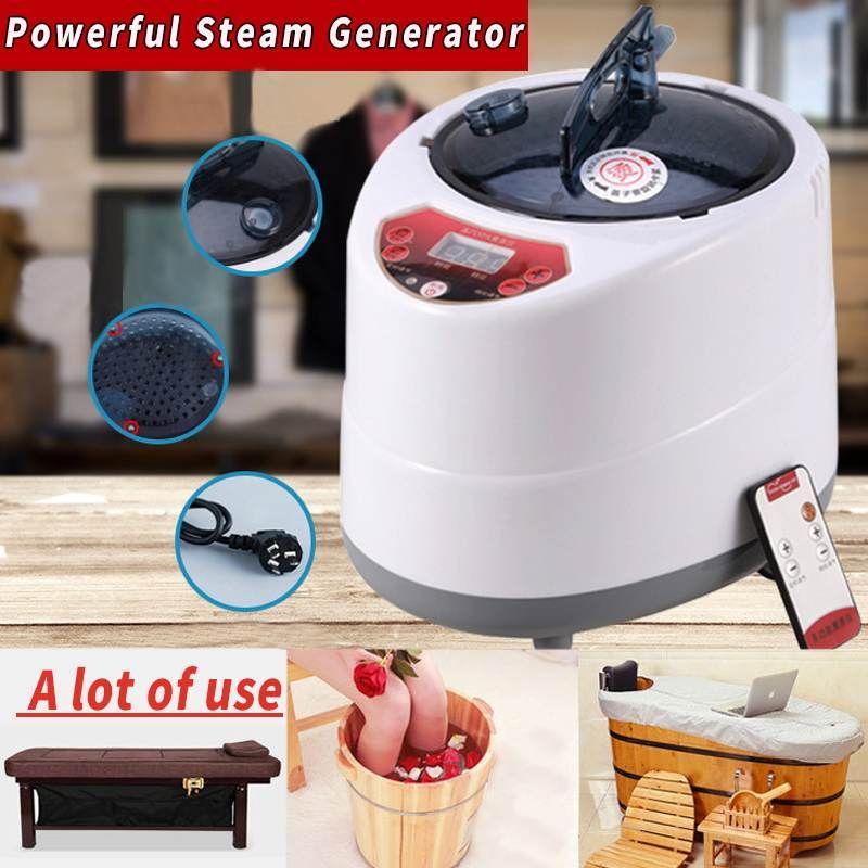 2,0/2.5L Sauna Generator Für Sauna Spa Zelt Körper Therapie Begasung Maschine Hause Dampfer Therapie Geeignet Für Küche