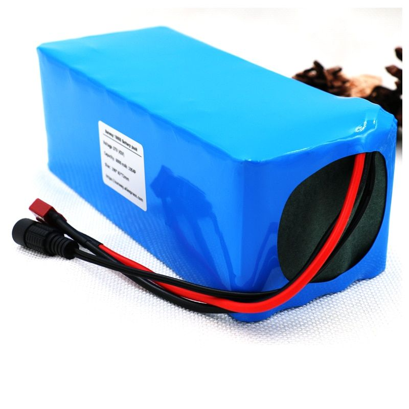 Cros 36V 8000mah 500W High Power&capacity 42V 18650 Lithium Battery Pack Ebike Electric Car Bicycle Motor Scooter with BMS