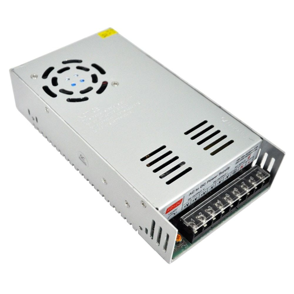 Small Volume 12V 40A 480W Switching Power Supply Driver for Led Light Strip Display AC110 / 220V Factory Supplier