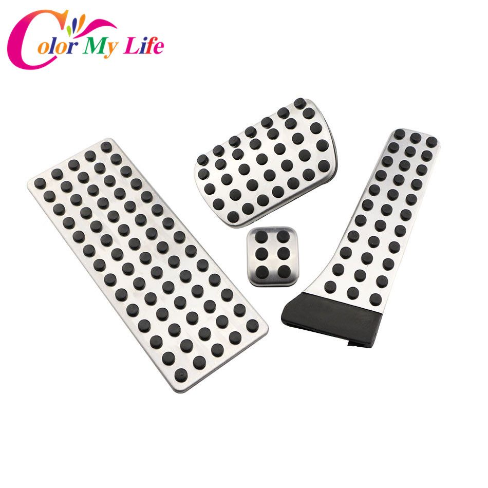 Color My Life Car Pedal Pedals for Benz AT LHD C E S GLC GLK SLK CLS SL Class W203 W222 R172 R231 W204 W211 W212 W210 X204 W218