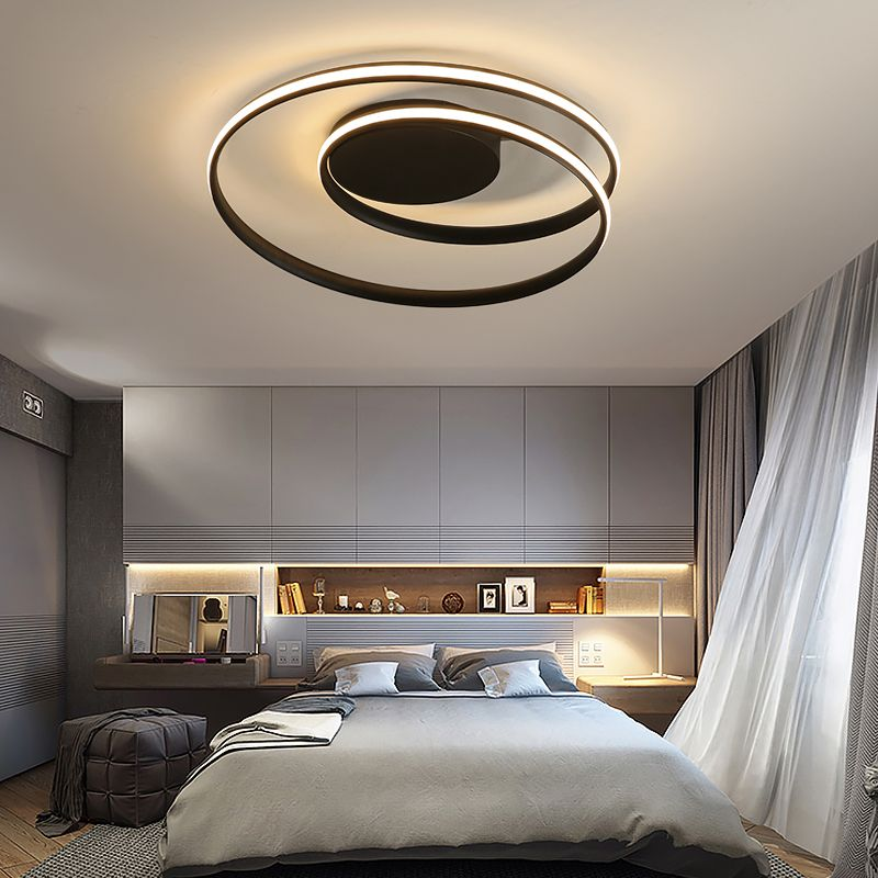 Lustre Ceiling Lights LED Lamp For Living Room Bedroom Study Room Home Deco AC85-265V Modern White surface mounted Ceiling Lamp