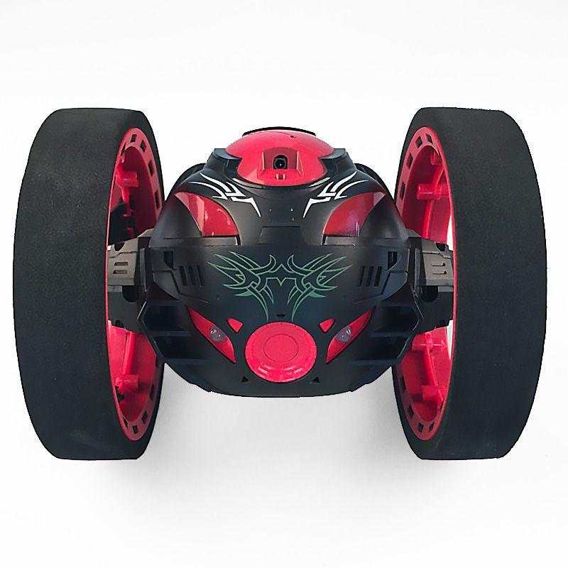 Новые игрушки дистанционного управления два колеса автомобиля 2.4 г Частота автомобиль с гибкие вращающиеся колеса светодиодные фонари дис...