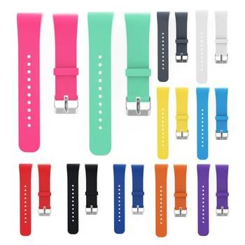 Silicone Wristband Watch Band Replacement Strap for Samsung Gear Fit 2 SM-R360/Fit2 Pro R365 Strap Wristband Watch Band 11 Color