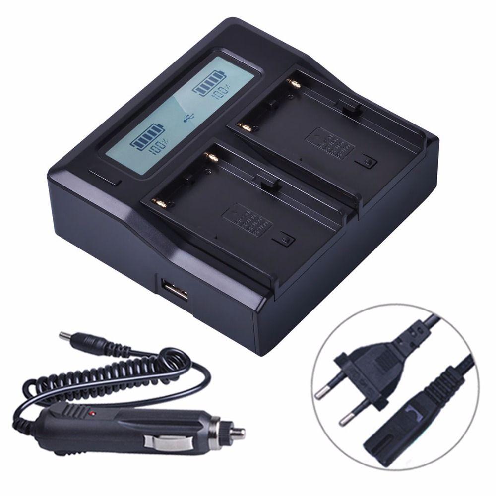 BP-U60 BP U60 BPU60 LCD Schnelle Dual Batterie Ladegerät für Sony PMW-100 PMW-150 PMW-160 PMW-200 PMW-300 PMW-EX1 EX3 EX280 EX260