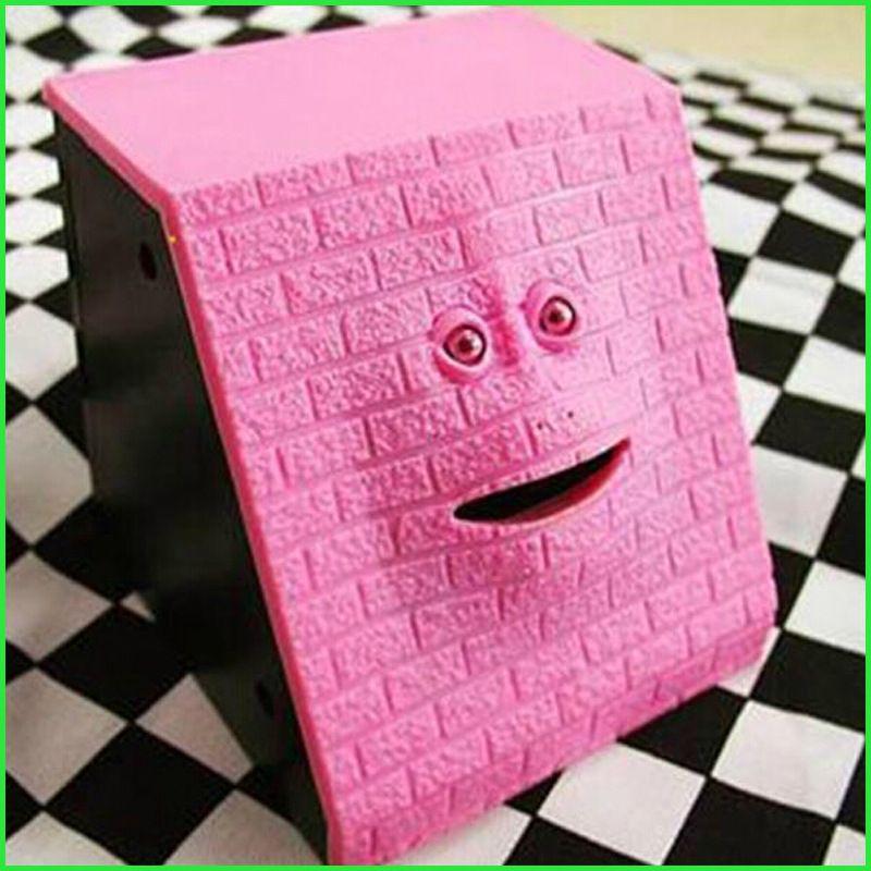 <font><b>Safe</b></font> Box Trapezoid Alcancia Facebank Monky Money Box Chewing piggy bank Hucha Cute Coin Box For Money MONEY BOX Face Bank