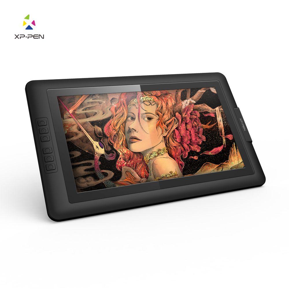 XP-Stift Artist15.6 IPS Zeichnung Pen Display Graphics Zeichnung Monitor mit Batterie-freies Passive Stylus (8192 ebenen druck)