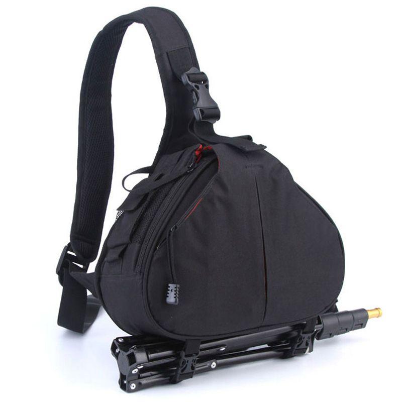 Sac à dos étanche Épaule DSLR Camera Bag Case Pour Canon EOS 1300D 760D 750D 700D 600D 7D 80D 6D 5DII 5D 5DR 60D 1200D