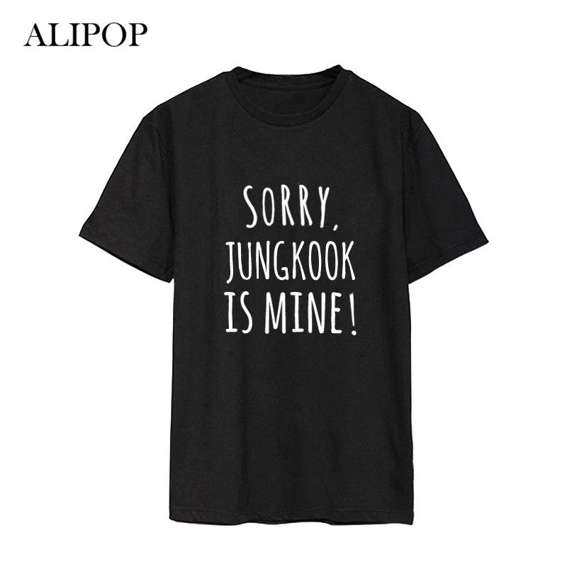 ALIPOP Kpop BTS Bangtan Garçons Album Parodie Méfait Chemises Casual Coton Vêtements T-shirt T-shirt À Manches Courtes Tops T-shirt DX460