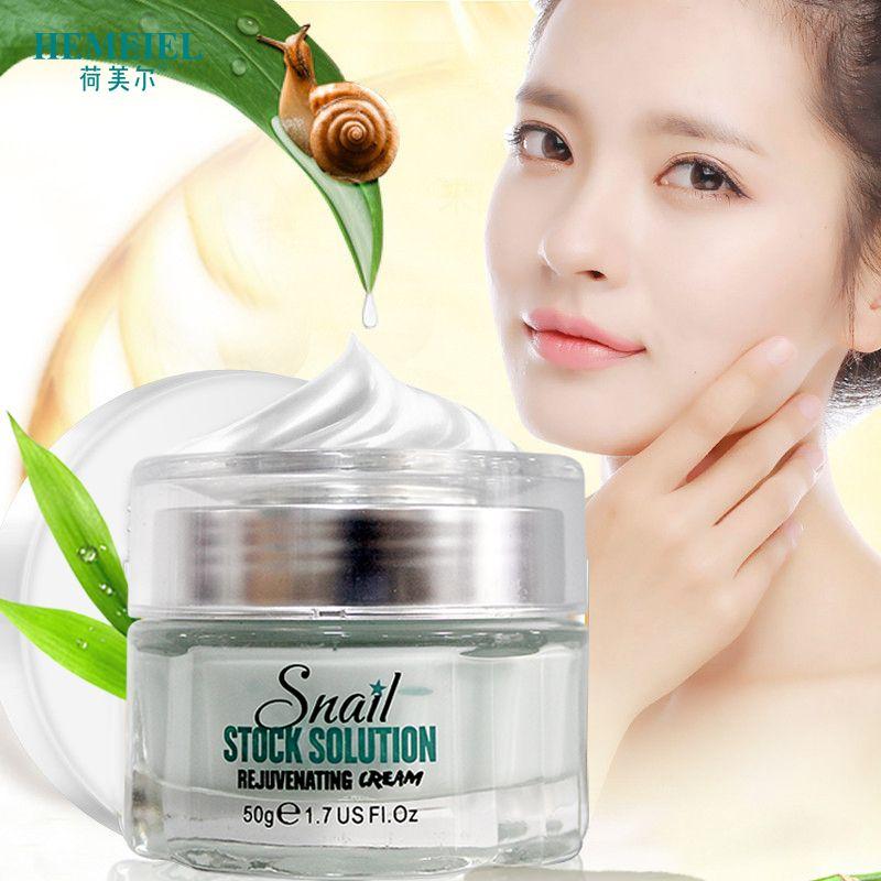 HEMEIEL Schnecke Creme Koreanische Kosmetik Anti-Aging Gesicht Verjüngende Feuchtigkeitscreme Feuchtigkeitsspendende Tag Creme Aufhellen Bleaching Hautpflege