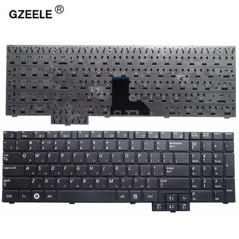 GZEELE laptop Tastatur für Samsung NP-R519 R519 R719 NP-R719 R618 R538 NP-P580 P530 Schwarz MIT NUMBERPAD Laptop-tastatur RU layout