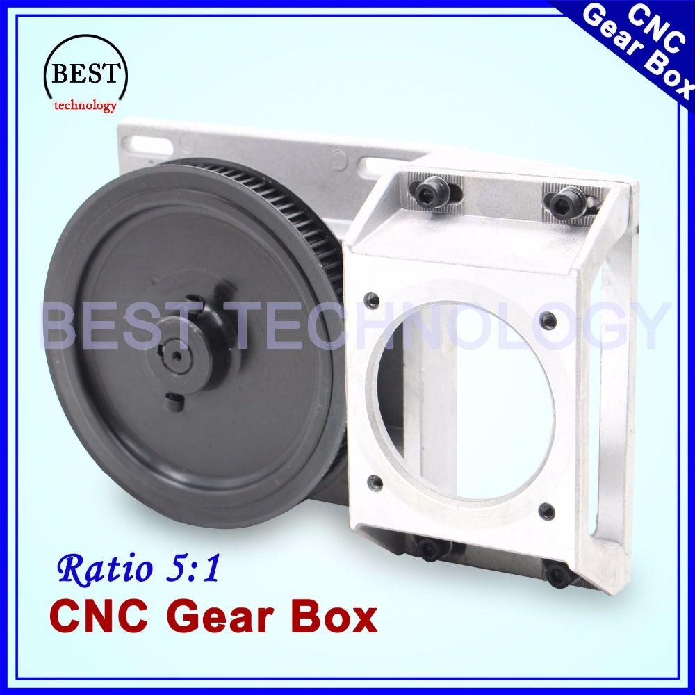 CNC Getriebe Verhältnis 5:1 geeignet Getriebe Helical zähne/Gerade zähne getriebe 1,25 modul synchron rad minderer box 1,25 Mt